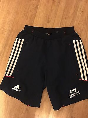 Official Great Britain Cycling Team Casual Sport Shorts Adidas
