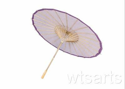 Purple Paper Parasol, Wedding Umbrella.