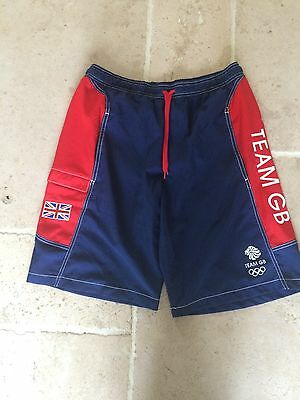Adidas Mens 'Team GB' Swimming Shorts - Medium