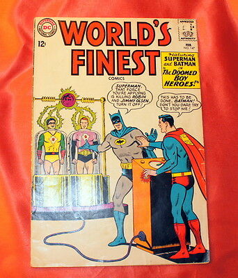 World's Finest # 147    ( 1965 )   Dc Comics  Good Condition