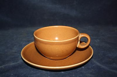 2 Russel Wright Iroquois Casual China Apricot Cup and Saucer mid Century