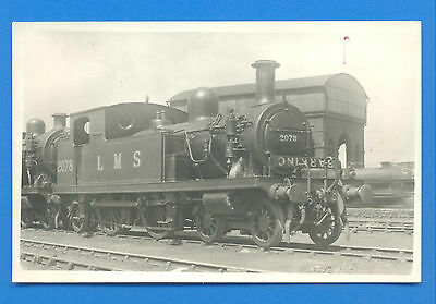 Lms 2078 At Unknown Location.postcard Size Photograph