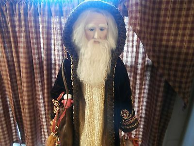 "Victorian Father Christmas Santa 25"" inches Tall"