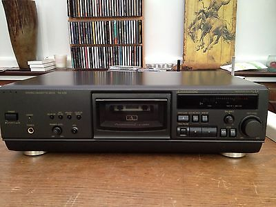 Technics RS-AZ6 Hifi Seperate Cassette Tape Deck 3 Head B/C HX Pro Lovely