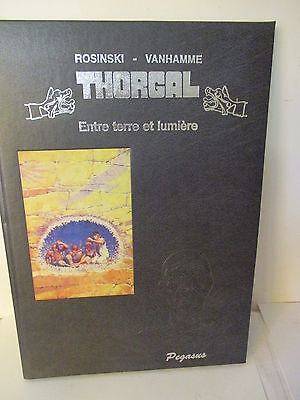THORGAL,ENTRE TERRE ET LUMIERE ,Ed Luxe,Grand Format,1994,TL,N°,signé,comme neuf