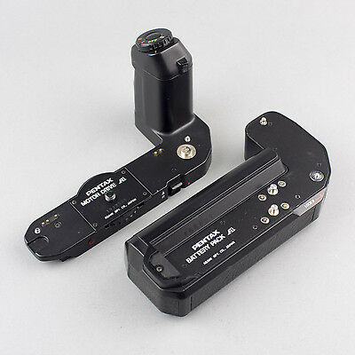 PENTAX 'MOTOR DRIVE A' + 'BATTERY PACK A' for Super A, Program A & P50. VGWO!!