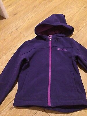 Girls Mountain Warehouse Jacket Age 5-6