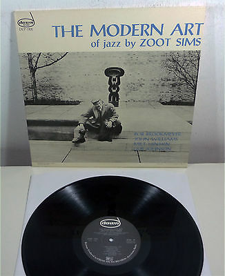 "ZOOTS SIMS ""Modern Art of Jazz"" NM 80s Spain re LP DAWN Fresh Sound"