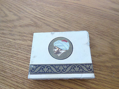 Turkish Cigarette Packet with contents