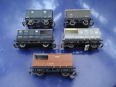 Hornby,Triang & Mainline 00 gauge vintage freight wagons and guards vans (5)