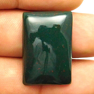 30.15 cts Natural Bloodstone Gemstone Octagon Shape Loose Cabochon For Jewelry
