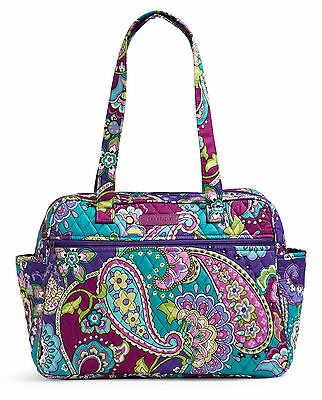 Vera Bradley Baby Bag Heather New With Changing Pad