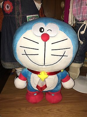 "15"" Authentic Doraemon Robot Cat Gift Plush Doll Stuffed Toy"