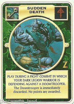 Doomtrooper: Sudden Death English Warzone Mutant Chronicles Ccg
