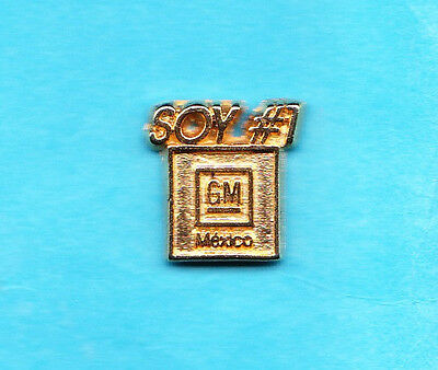 Goldener GM SOY - Pin  Mexico