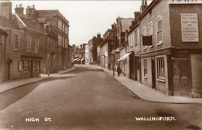 High Street Wallingford unused RP pc  Ref A141
