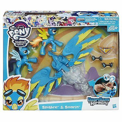 My Little Pony Guardians of Harmony Wonderbolts Spitfire and Soarin'