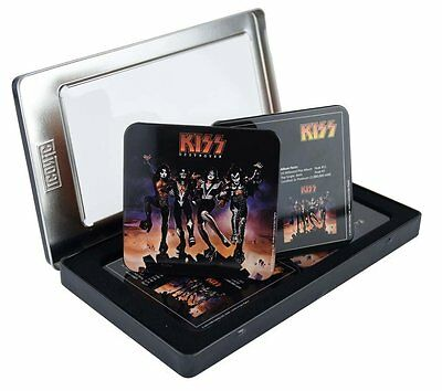 Kiss Destroyer 6pc Tin Coaster Set