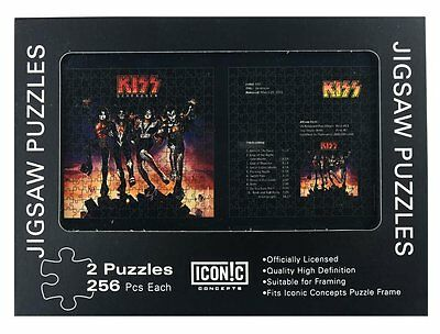 Kiss Destroyer Double Jigsaw Puzzle Set