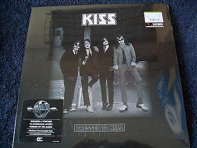 Kiss Dressed to Kill German Logo LP