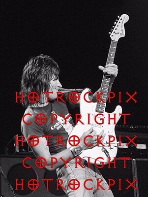 Archival Quality Photo Of Jeff Beck In Concert 1976