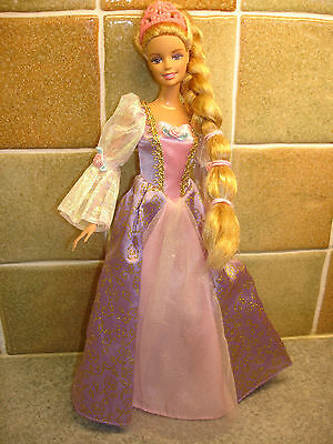 A Barbie Princess Doll with Accessories and Free Childs Hairband