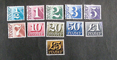 G.B. Fine used postage dues