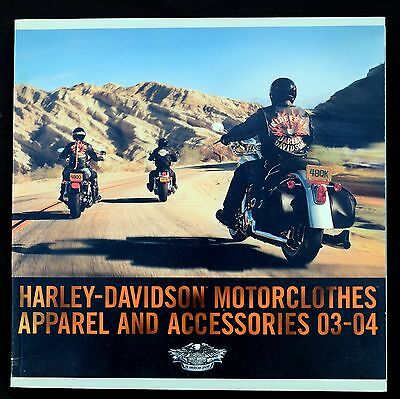 Harley-Davidson 2003-2004 Motorclothes Apparel & Accessories Catalog