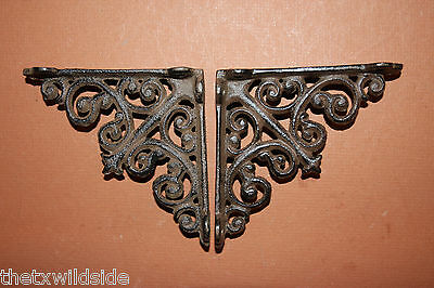 (2)Antique Look,corbels, Shelf Brackets,small,victorian Decor,home Decor,b-27