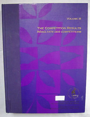 Official Report   Olympic Games ATLANTA 1996 // Part 3 - Off.Results  !!  RARITY