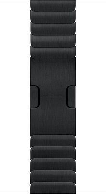 Apple Watch 38mm Gliederarmband Schwarz Original MJ5H2ZM/A - ohne Watch!