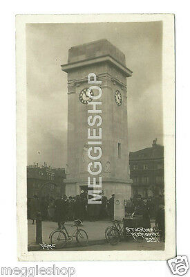 London: Lambeth: Stockwell Memorial : Clapham Road Old Photo Postcard By Johns