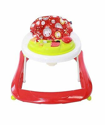 New Red Kite Baby Go Round Jive Adjustable Compact Activity Walker Cotton Tail