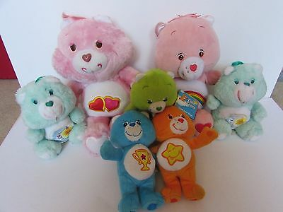 Care Bears Bundle Soft Toys And Figure