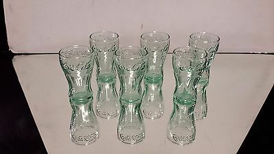 Set of 6 Anchor Hocking Coca-Cola Shot Glasses