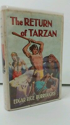 The Return of Tarzan by Edgar Rice Burroughs. 1952 collectable vintage book