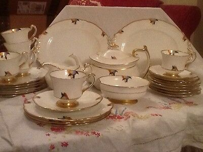 Paragon Art Deco Tea Set For Seven Absolutely Stunning