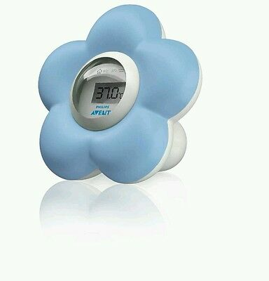 Avent Baby Bath Water And Room Thermometer Bath Toy Safety