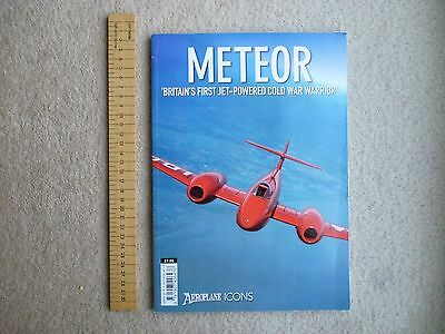 Gloster Meteor, soft back book covering development & history, from Aeroplane.