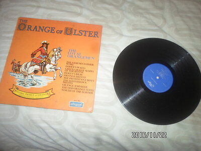 a lp vinyl record the orange of ulster 1967