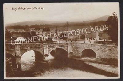 Co Wicklow Bray Bridge And Little Bray Real Photo
