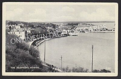Co Dublin The Seafront Howth Posted 1937