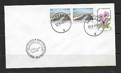 Turkey Turkish Cyprus 1982 Cover 7th Anniv