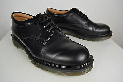 VINTAGE 1980's SOLOVAIR DR ENGLISH MADE BLACK RUBBER SOLE SHOES SKA MOD SIZE 10