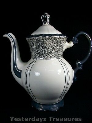 Beautiful Coffee or Tea Pot by Mitterteich, Bavaria Must see this Rare Pattern.