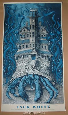Jack White Mishka Westell Austin Poster Print Signed Numbered Artist Edition