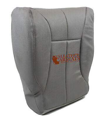 1998 Dodge Ram 1500 SLT Driver Side Bottom Synthetic Leather Seat Cover GRAY