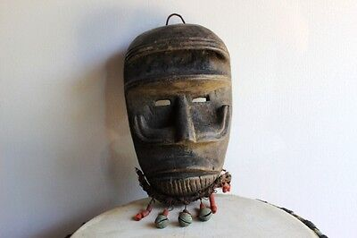 Bete mask, Ivory Coast, tribal mask by the bete people from Africa