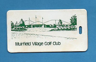 1970's-80's MUIRFIELD VILLAGE GOLF CLUB Home of the Memorial Tournament-Nicklaus