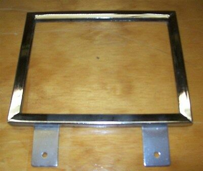 """Store Display Fixtures 4 NEW 5½""""Hx7""""W CHROME SIGN HOLDER SHELF OR WALL MOUNT"""